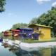 Architekturvisualisierung Floating Home